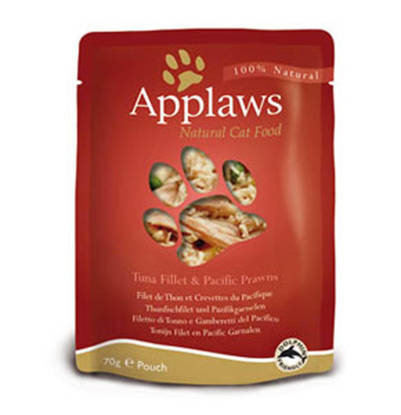 Picture of APPLAWS CAT POUCH TUNA/PRAWN