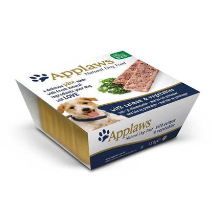 Picture of Applaws Dog Pate - Salmon 7 x 150g