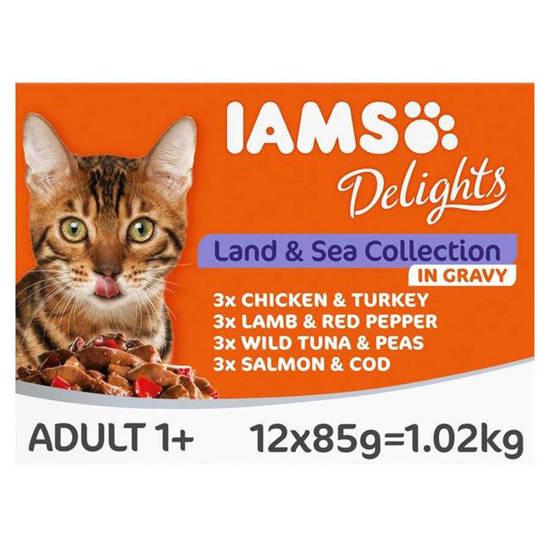 Picture of IAMS CIG LAND/SEA CAT FOOD 85G