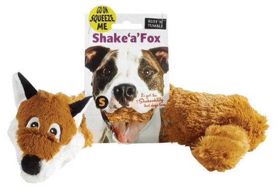 Picture of Shake a Fox Dog Toy - Small