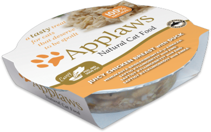 Picture of Applaws Cat - Chicken Breast with Duck Pot 10 x 60g