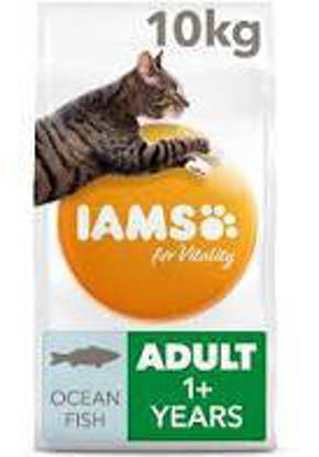 Picture of Iams Vitality Cat Adult Ocean Fish 10kg